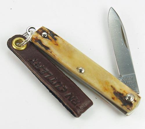 Great Eastern Northfield Spear Keychain Knife Sambar Stag 052121 PPP 4