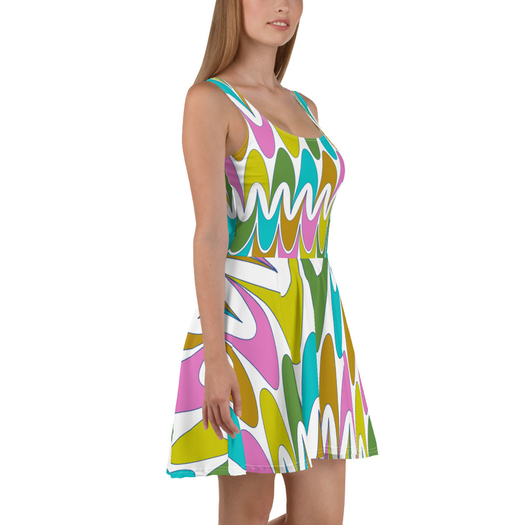 "Ann Gertrude ""Free Spirit"" Skater Dress"