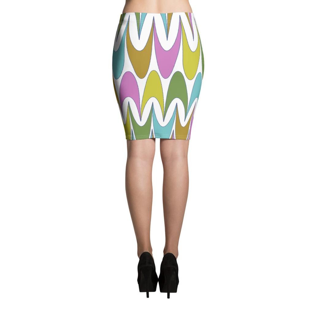 """Ann Gertrude """"Free Spirit"""" Pencil Skirt"""