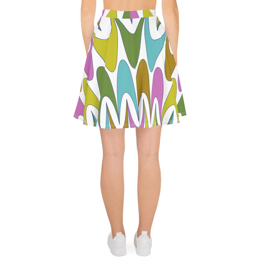 """Ann Gertrude """"Free Spirit"""" Skater Skirt"""