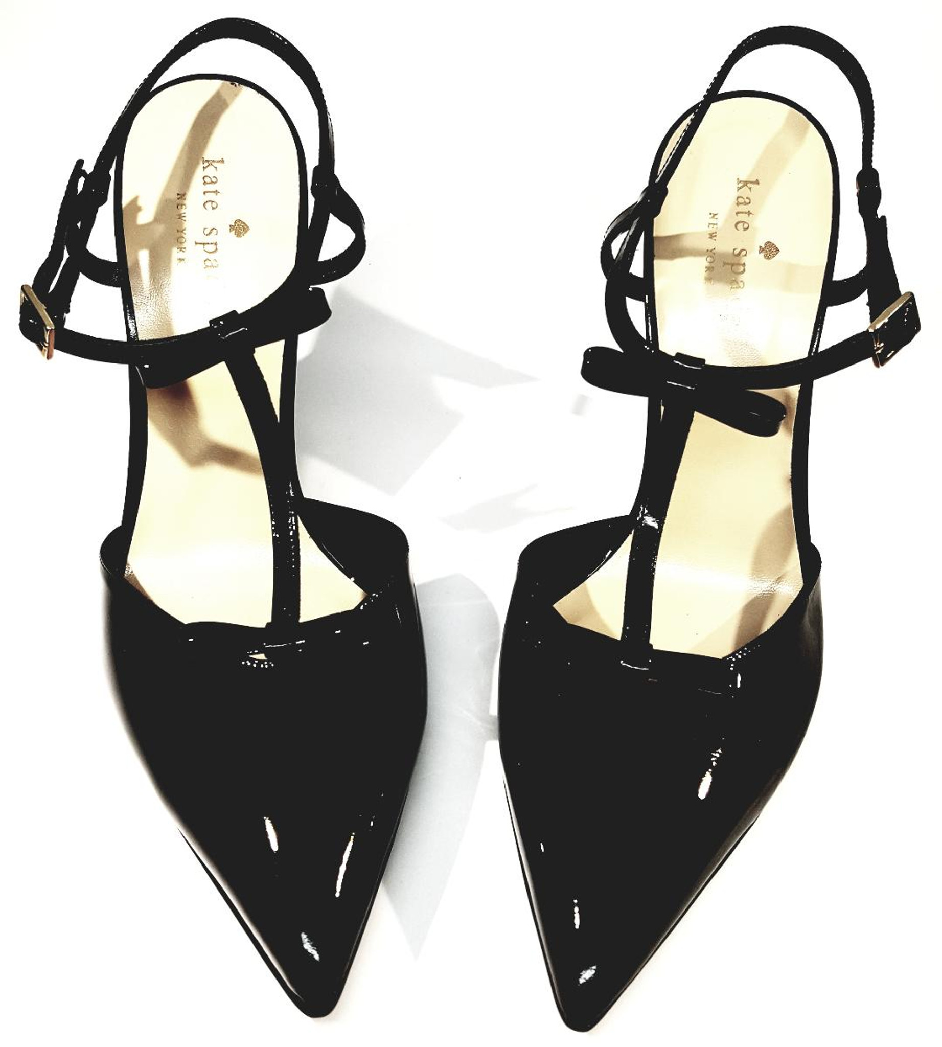 Kate Spade Black Patent Leather Pointed
