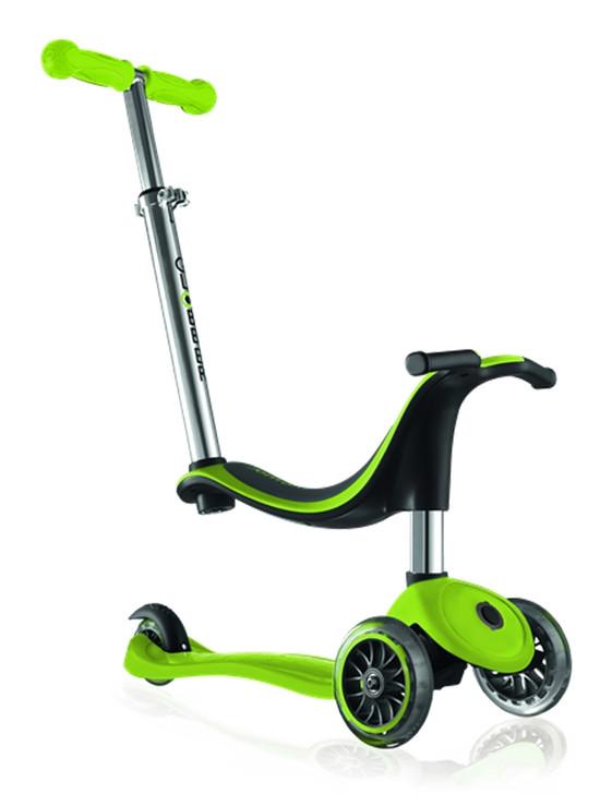 Globber EVO 4-in-1 Scooter v2 - Green