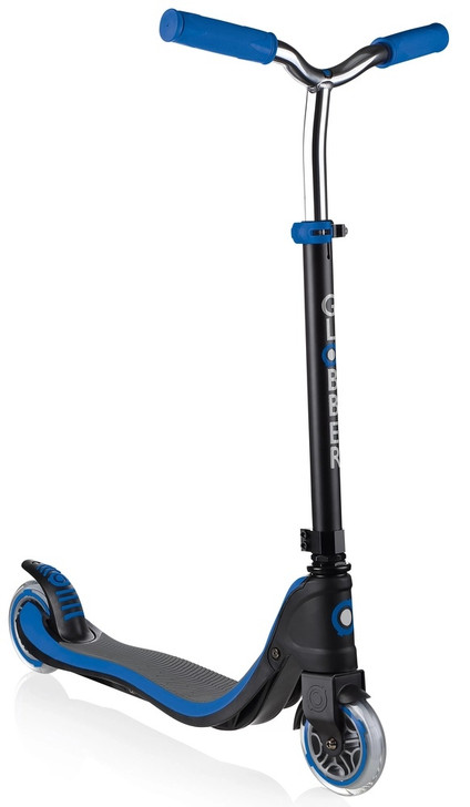Globber 2 Wheel Flow 125 Height Adjustable Scooter - Blue