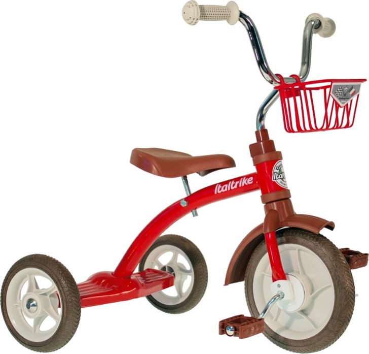 "Italtrike Tricycle 10"" - Super Lucy Champion Red"