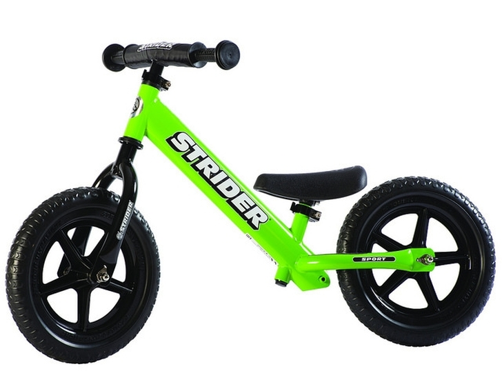 "Strider 12"" Sport Balance Bike - Green"