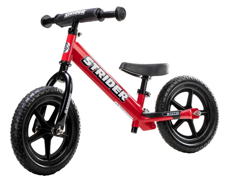 "Strider 12"" Sport Balance Bike - Red"