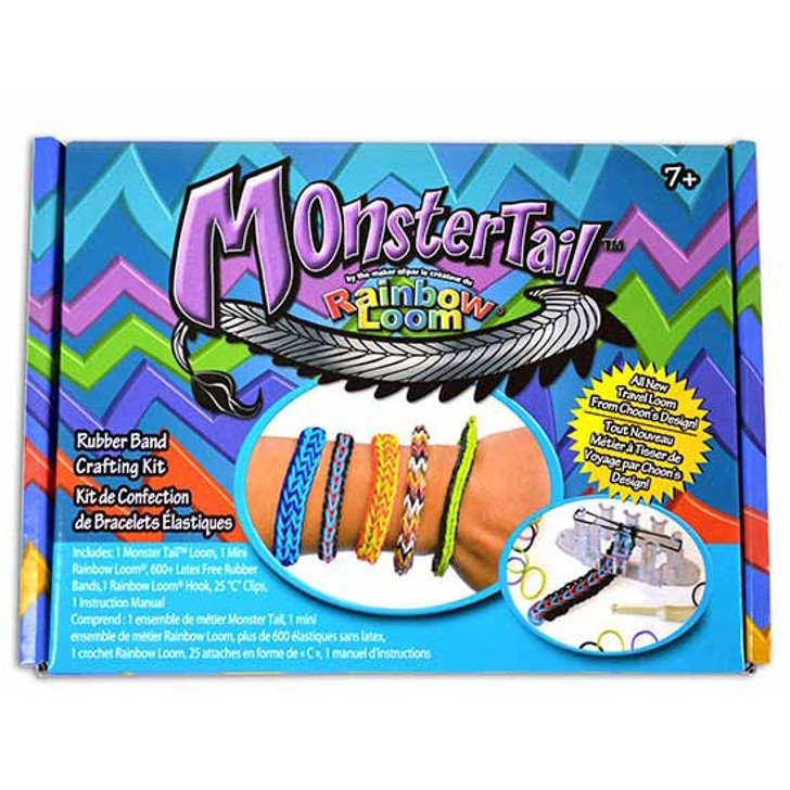 Monster Tail by Rainbow Loom Kit