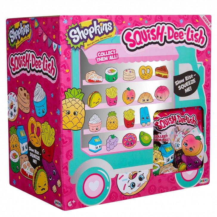 Shopkins Squish-Dee-Lish Slow Rise Squishies - Series 2 - BULK 24 PACK