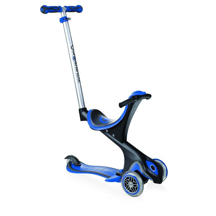 Globber EVO Comfort 5-in-1 Scooter - Dark Blue