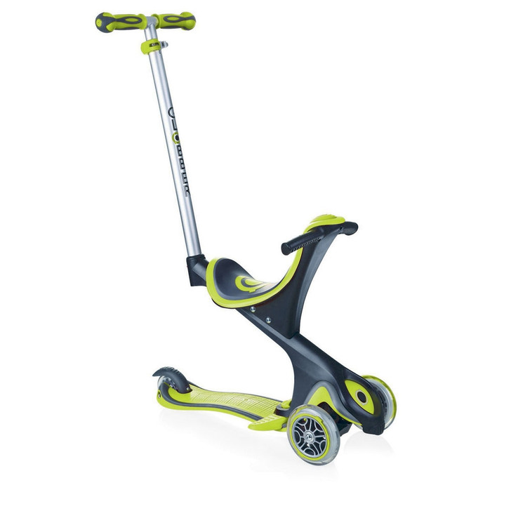 Globber EVO Comfort 5-in-1 Scooter - Green