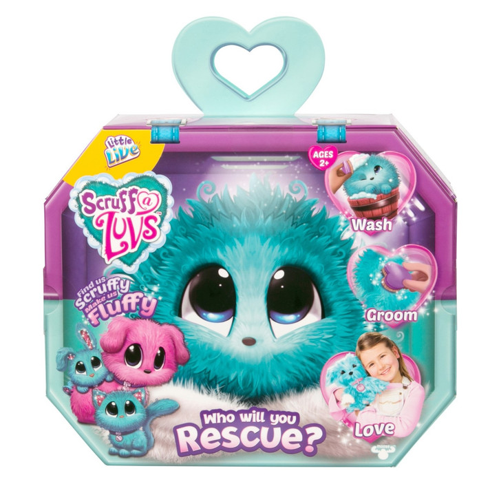 Little Live Pets Scruff-a-Luv's Rescue Pet - Blue
