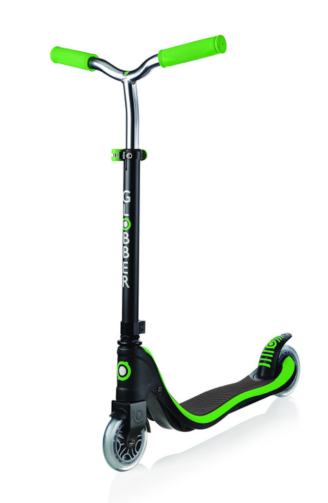 Globber 2 Wheel Flow 125 Height Adjustable Scooter - Green