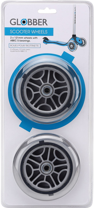 Globber Replacement Front Wheels 121mm 2 Pack