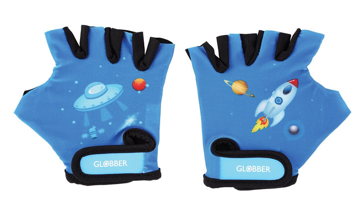 Globber Toddler Gloves - Rocket Blue
