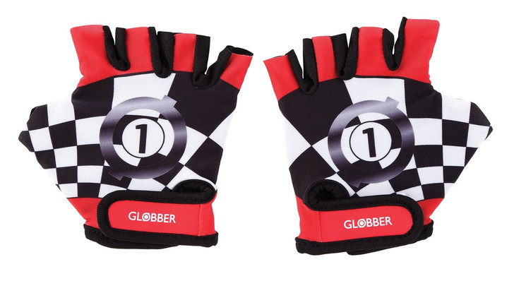 Globber Toddler Gloves - Racing Red