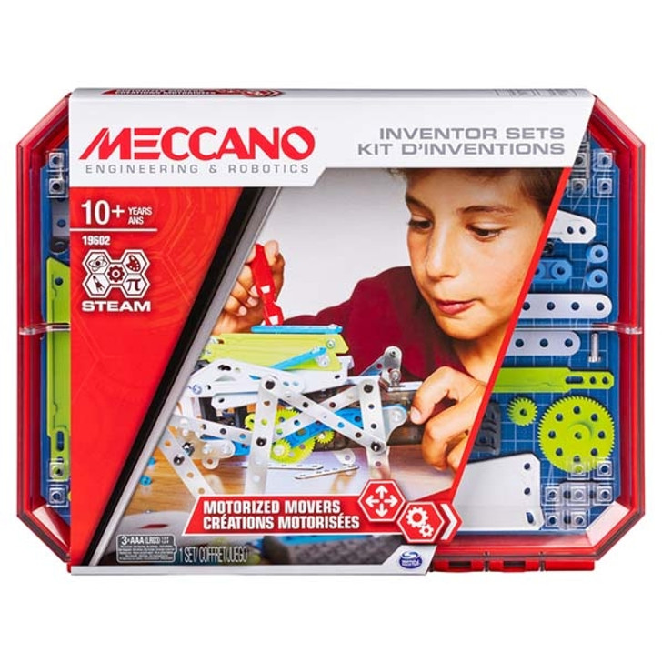 Meccano Set 5: Motorised Movers Inventor Set