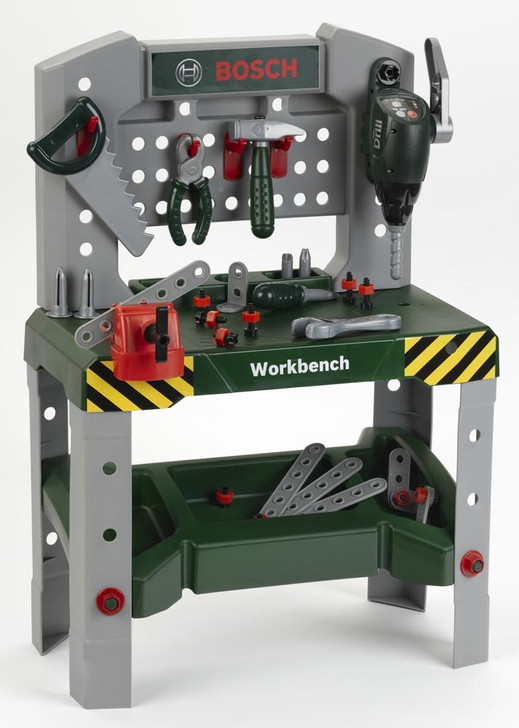 Bosch Workbench Deluxe Toy - Construction Pretend Play