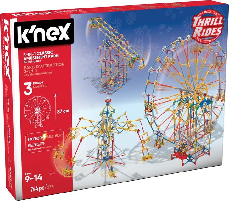 K'Nex Thrill Rides 3-in-1 Classic Amusement Park