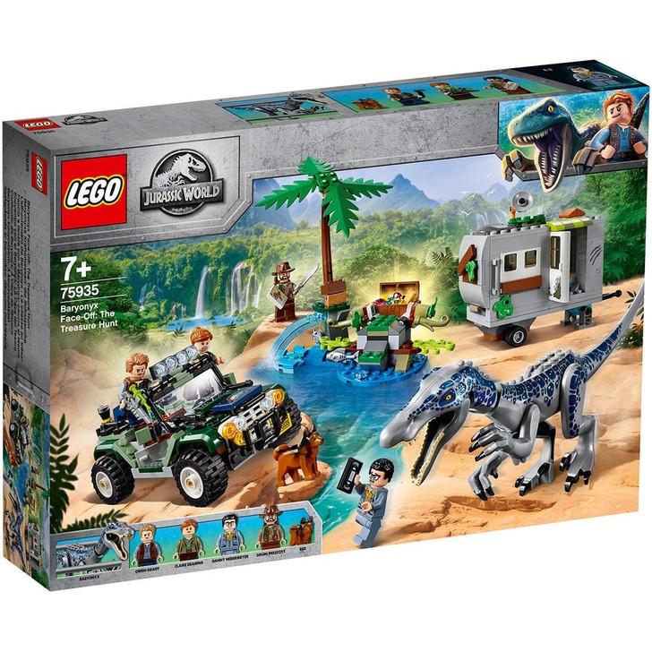 LEGO Jurassic World Baryonyx Face Off: The Treasure Hunt 75935