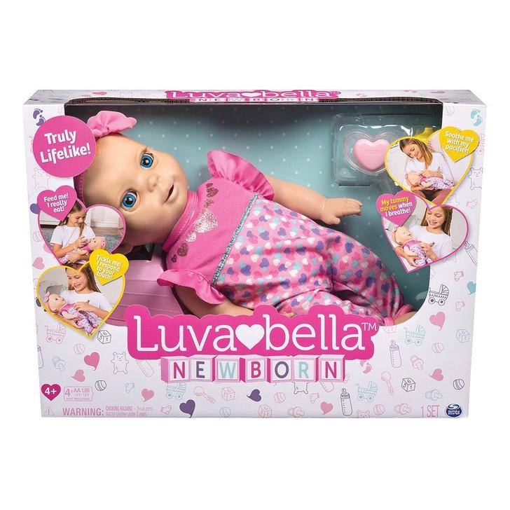 Luvabella Newborn - Blonde Hair