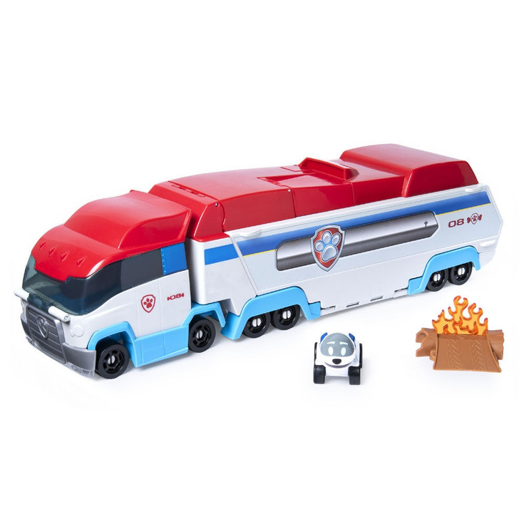 Paw Patrol Launch'N Haul Paw Patroller Transforming Diecast Carrier and Launcher