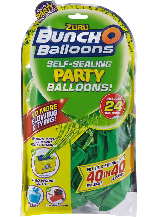 Zuru Bunch O Balloons Self-Sealing Party Balloons - 24 Pack Refill GREEN