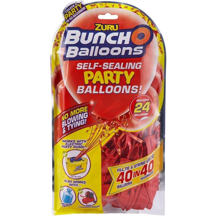 Zuru Bunch O Balloons Self-Sealing Party Balloons - 24 Pack Refill RED