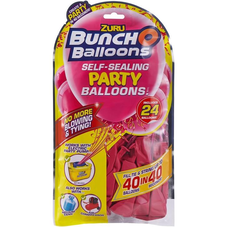 Zuru Bunch O Balloons Self-Sealing Party Balloons - 24 Pack Refill PINK