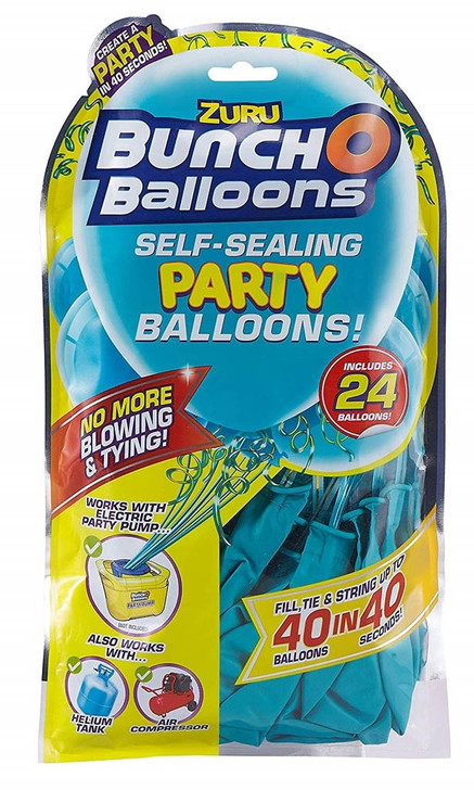 Zuru Bunch O Balloons Self-Sealing Party Balloons - 24 Pack Refill TEAL