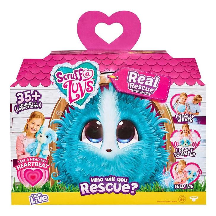 Little Live Pets Scruff-a-Luvs Real Rescue Electronic Pet