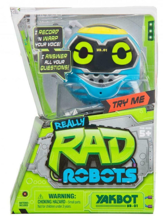 Really Rad Robots - Yakbot - Blue