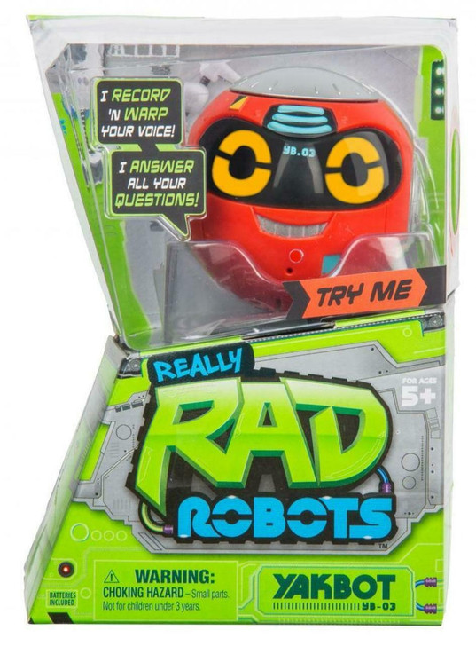 Really Rad Robots - Yakbot - Red