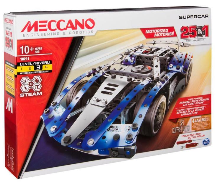 Meccano Supercar - Multi Model 25