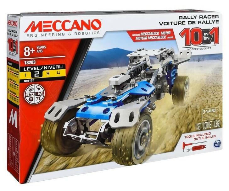 Meccano Rally Racer Motorised truck - 10 Model