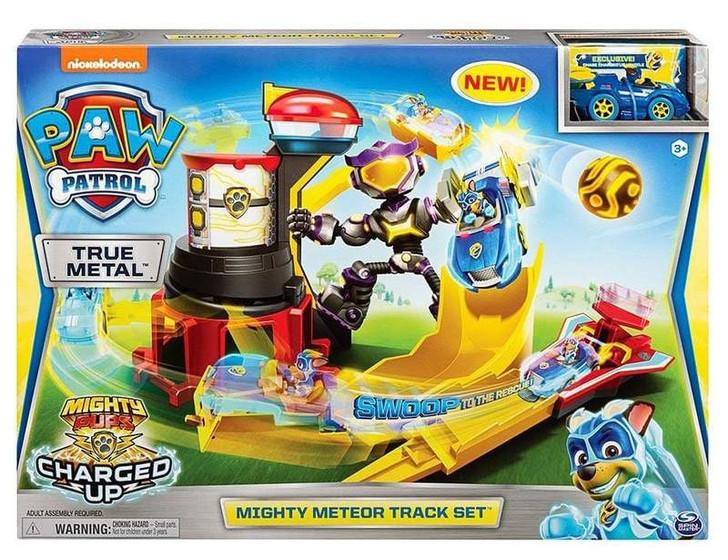 Paw Patrol True Metal Mighty Pups - Mighty Meteor Track Set