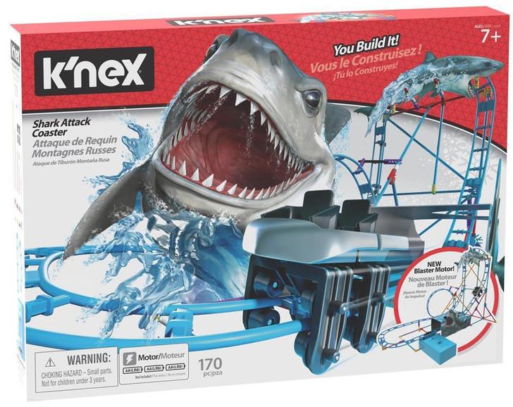 K'Nex Shark Attack Roller Coaster - Thrill Rides