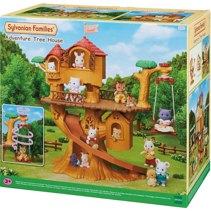 Sylvanian Families - Adventure Tree House SF5450