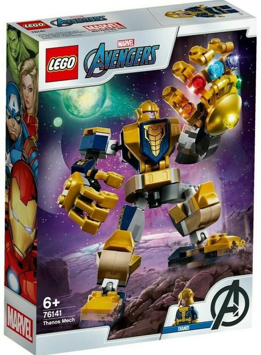 LEGO Super Heroes Avengers Thanos Mech 76141