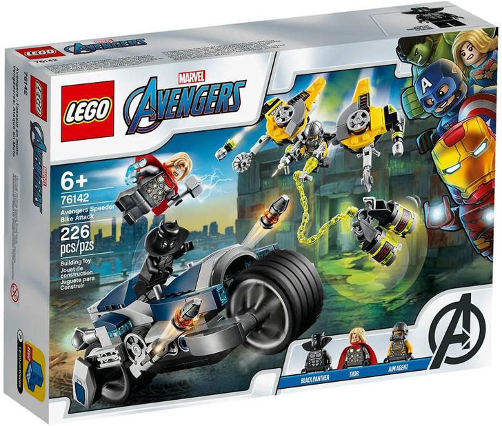 LEGO Super Heroes Avengers Speeder Bike Attack 76142