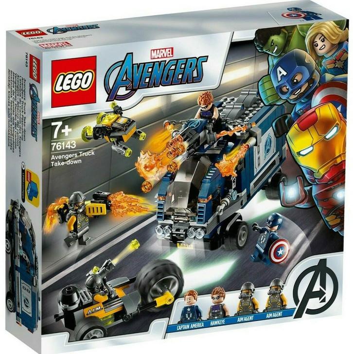 LEGO Super Heroes Avengers Truck Take-down 76143