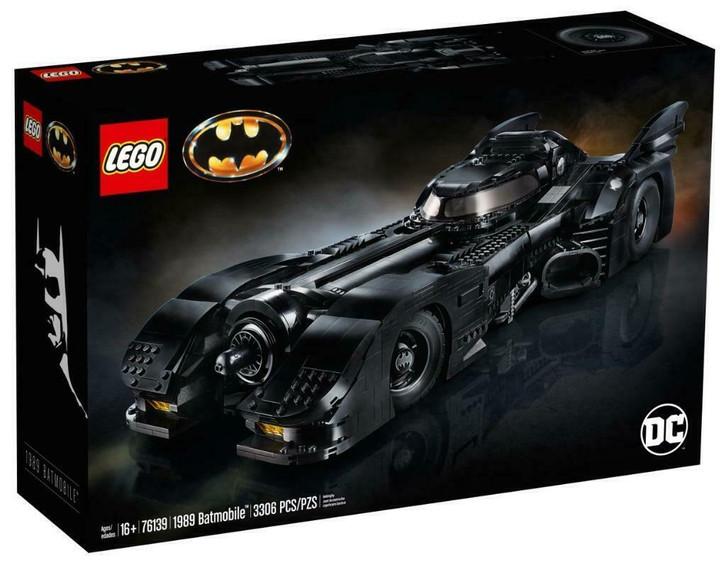 LEGO DC Super Heroes Batman 1989 Batmobile 76139