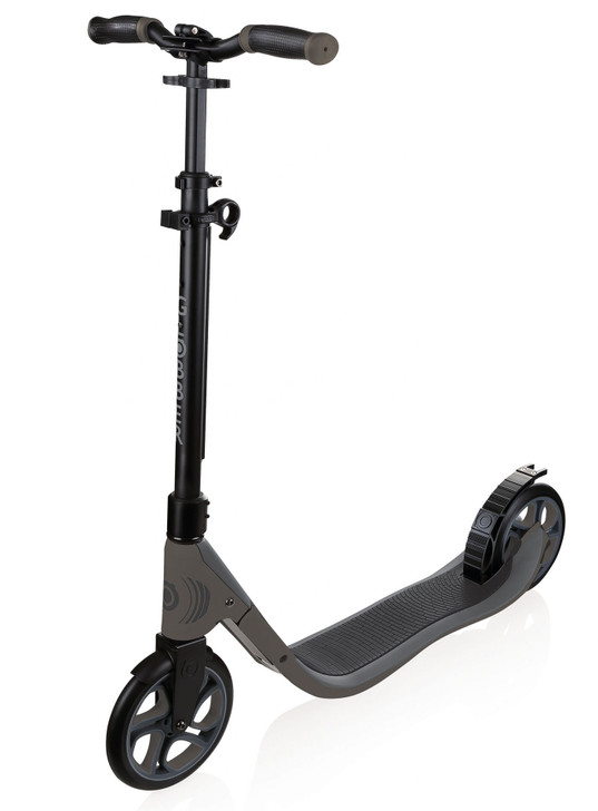Globber ONE NL 205 - Adult Scooter - Black/Charcoal Grey