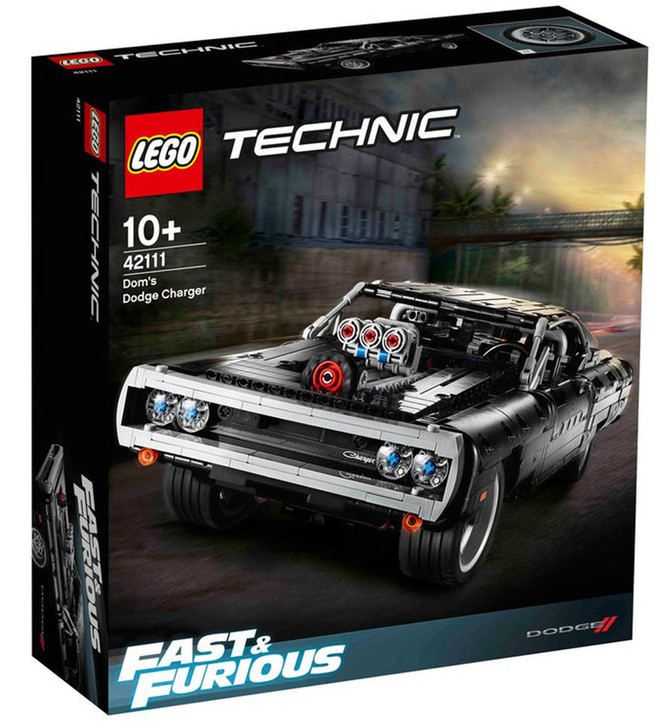 LEGO Dom's Dodge Charger (Fast & Furious) 42111