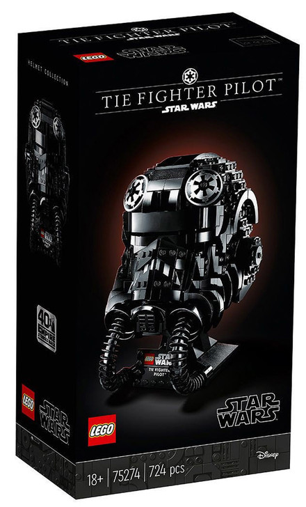 LEGO Star Wars TIE Fighter Pilot Helmet 75274