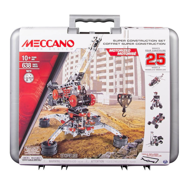 Meccano Super Construction Set - 25 models in 1