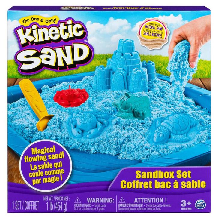 Kinetic Sand - Sandbox Playset - Blue Sand