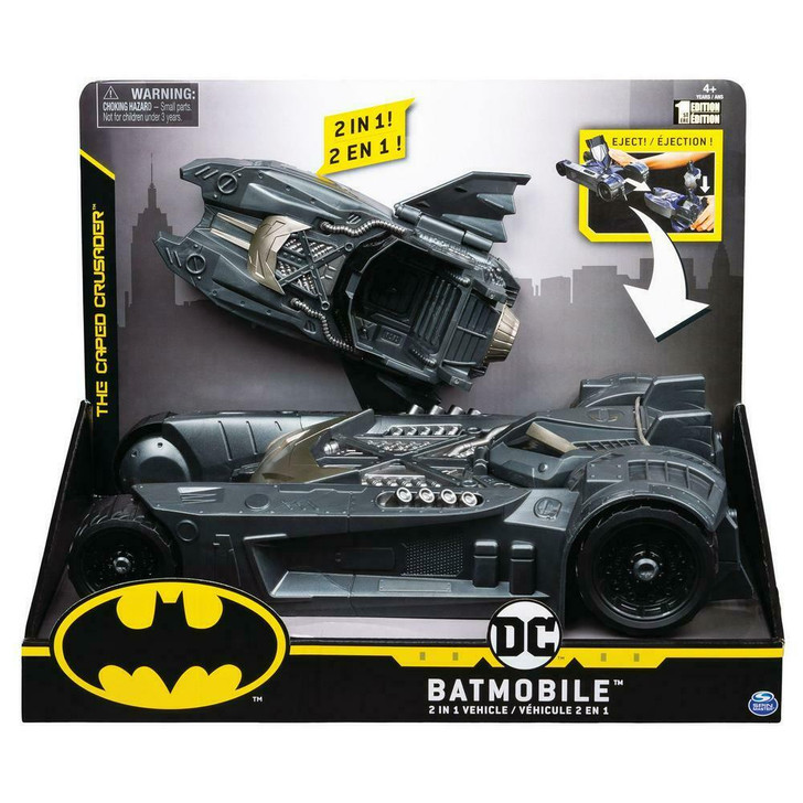 Batman Batmobile and Batboat 2 in 1 Transforming Vehicle