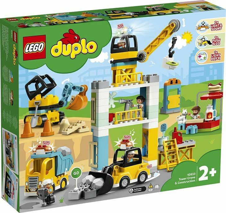 LEGO DUPLO Tower Crane & Construction 10933