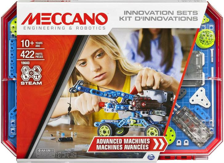 Meccano Set 7: Advanced Machines Innovation Set (New model 422 parts)