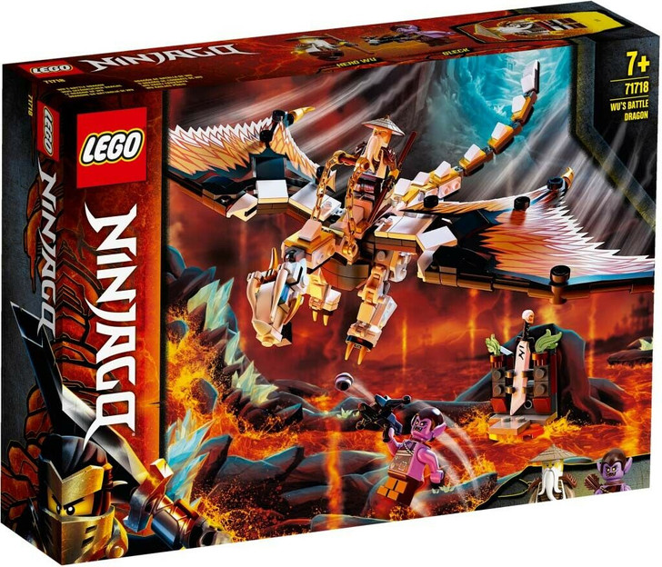 LEGO Ninjago Wu's Battle Dragon 71718